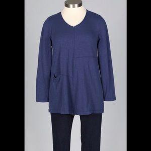 HABITAT Blue Soft Tunic/L